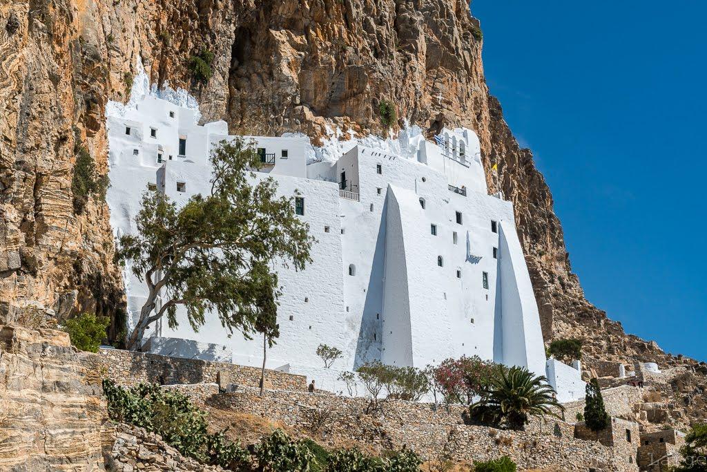 De loin en large: Cyclades - jour 6 : Amorgos - sur les traces du Grand Bleu